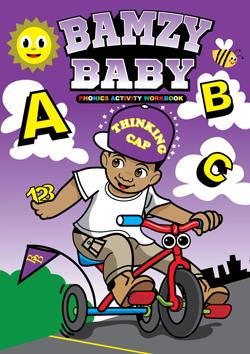 Bamzy Baby Color Book